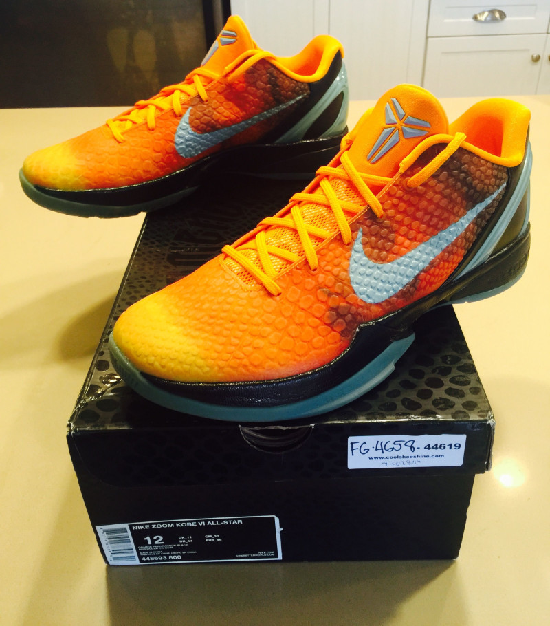 Nike Zoom Kobe VI 6 Orange County