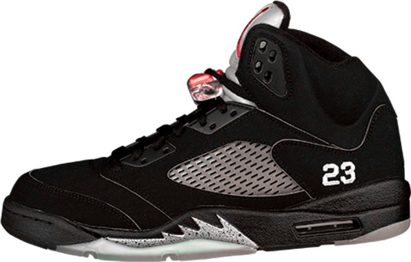 Air Jordan 5 Black/Metallic