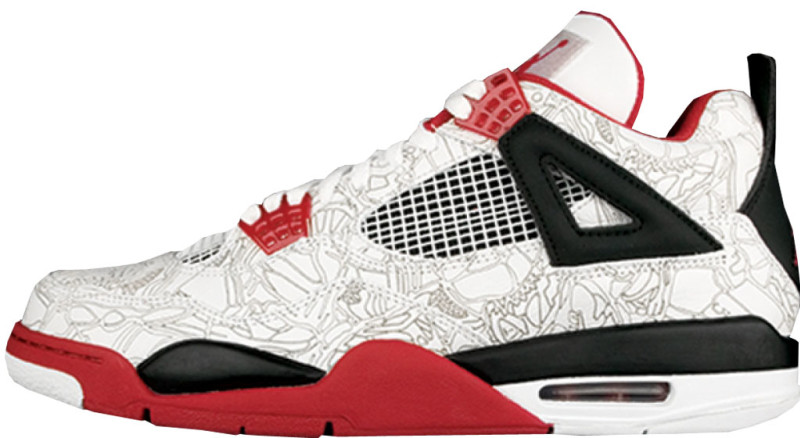 Jordan 4 White Red