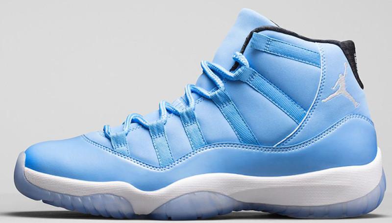 Air Jordan 11 Blue And White