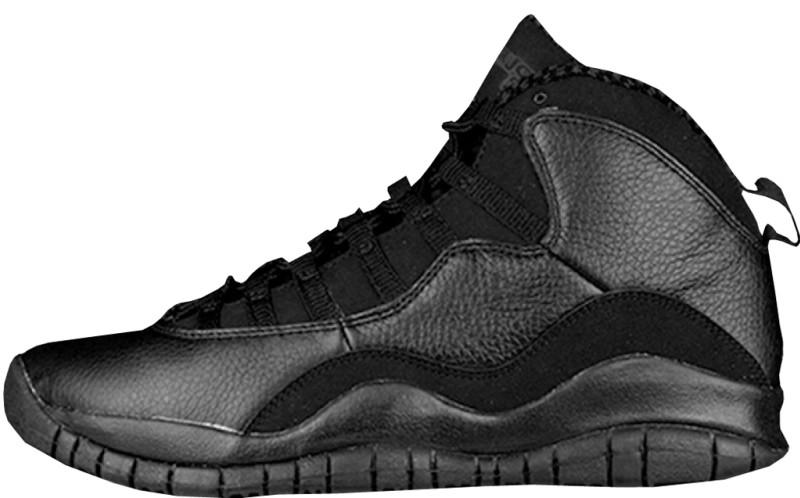 black jordan 10s