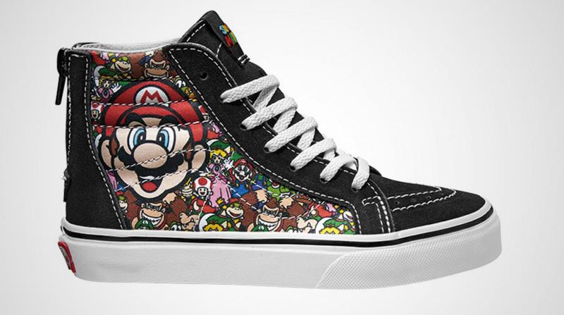 Nintendo Vans Sneakers