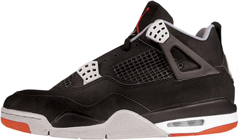 air jordan retro 4 all black