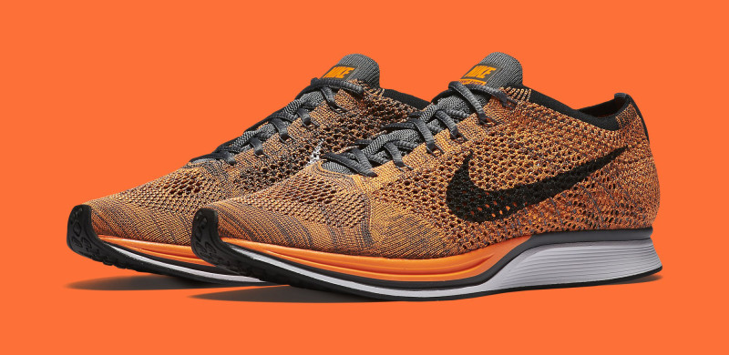 Nike Flyknit Racer Orange