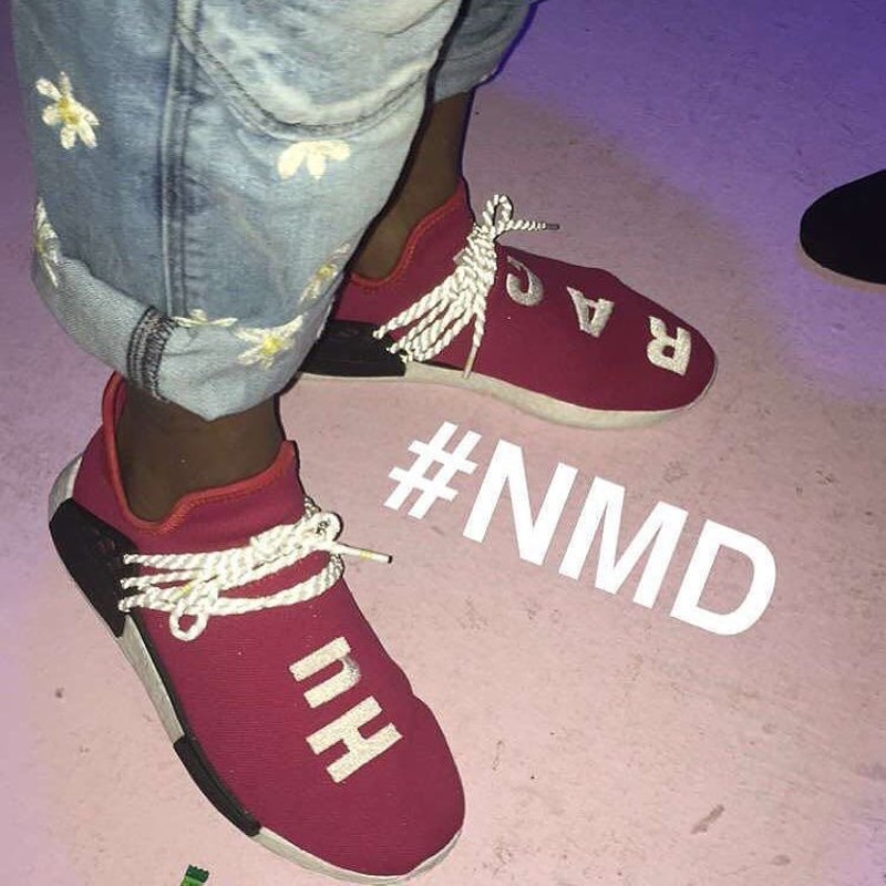 adidas nmd human race red