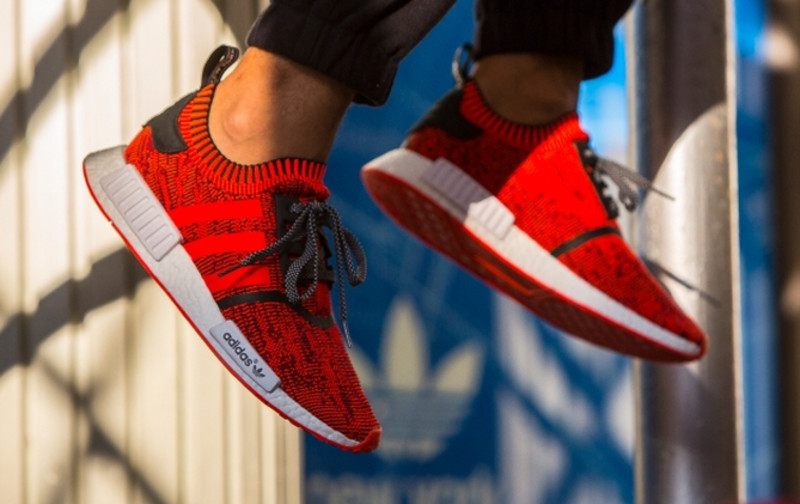 Adidas Nmd Red Apple