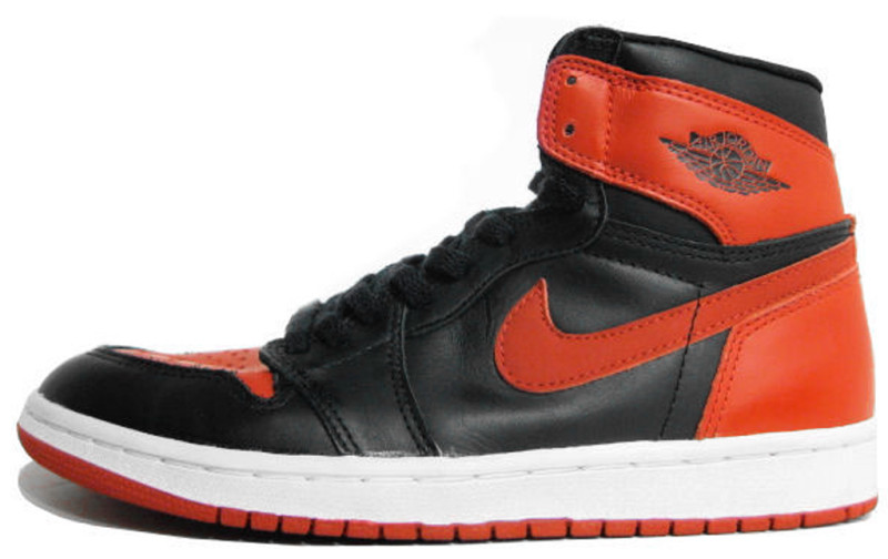 air jordan 1 retro black red
