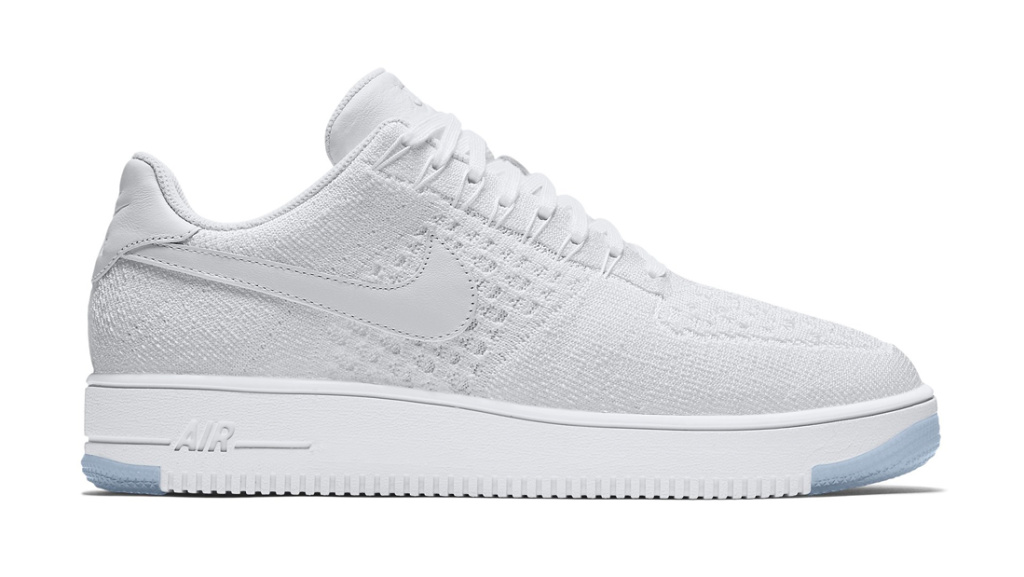 Nike Air Force 1 Low White Flyknit