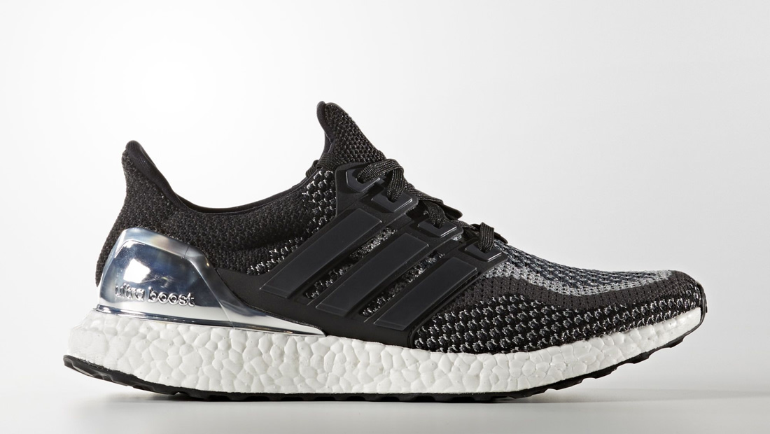Adidas Ultra Boost Black And Silver