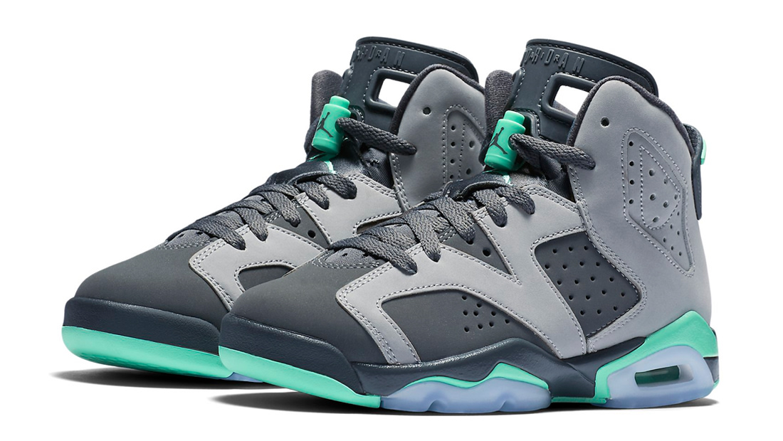 official photos 2e81e b8558 ... switzerland coming saturday air jordan 6 retro gg green glow 9ff64 dcd83