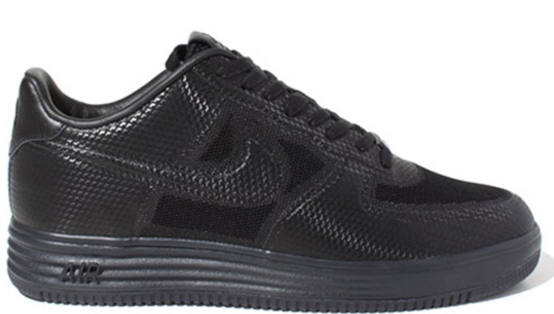 Nike Lunar Force 1 Low Fuse NRG Black/Black-Anthracite | Nike | Sole Collector