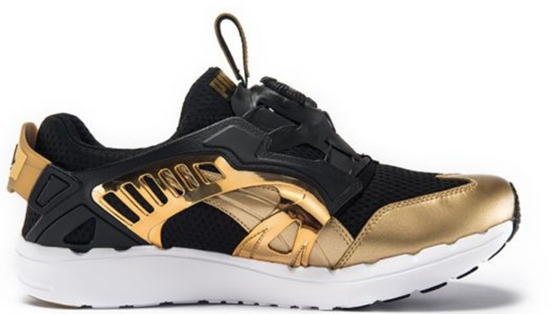 Puma Black And Gold