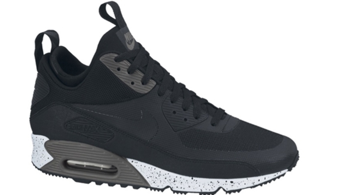 Nike Air Max \u0026#39;90 Sneakerboot NS Black/Black-Dark Charcoal-White