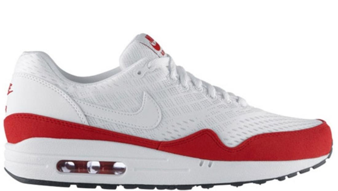 Nike \u0026middot; Nike Air Max \u0026middot; Nike Air Max 1. Nike Air Max 1 EM White/White-University Red-White