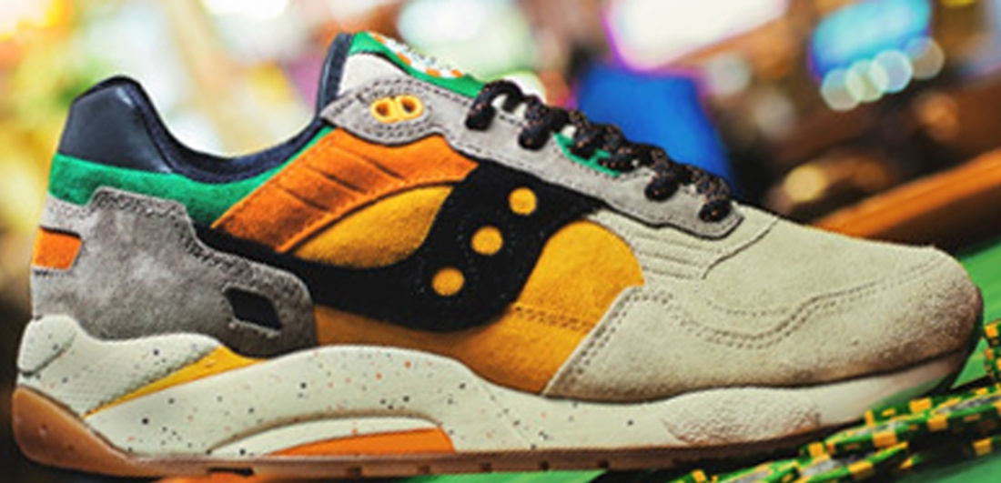 Saucony Black And Tan