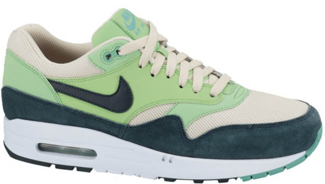 Nike Air Max 1 Essential Beach/Dark Atomic Teal-Poison Green-Atomic Teal-Summit White | Nike | Sole Collector