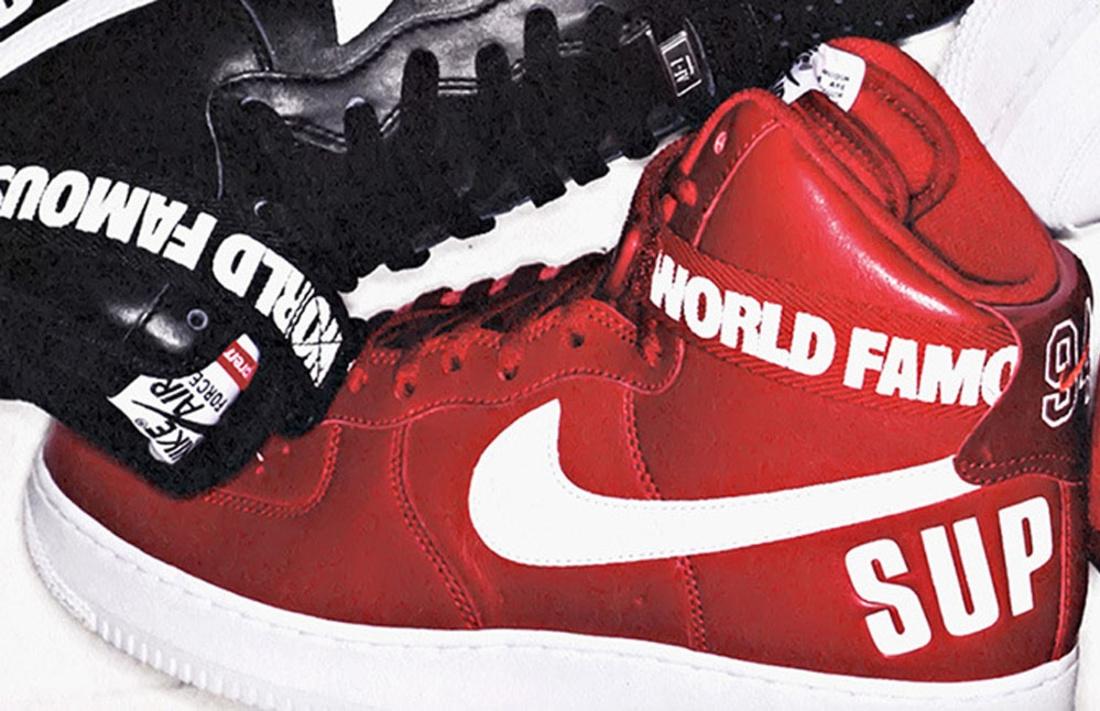 sale retailer e3bb6 38365 Nike air force 1 high supreme