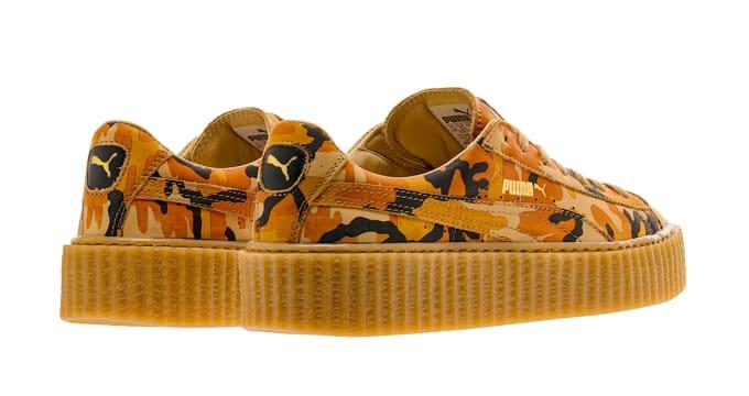 low priced ffccc 7ad9c Puma Suede Creepers x Fenty by Rihanna