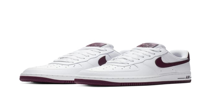 Nike Air Force 1 Low Patent White Bordeaux | Nike | Sole Collector