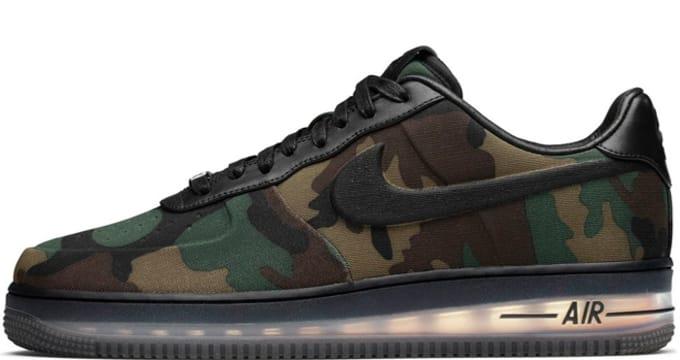 Nike Air Force 1 Low Max Air VT QS Black/Black | Nike | Sole Collector