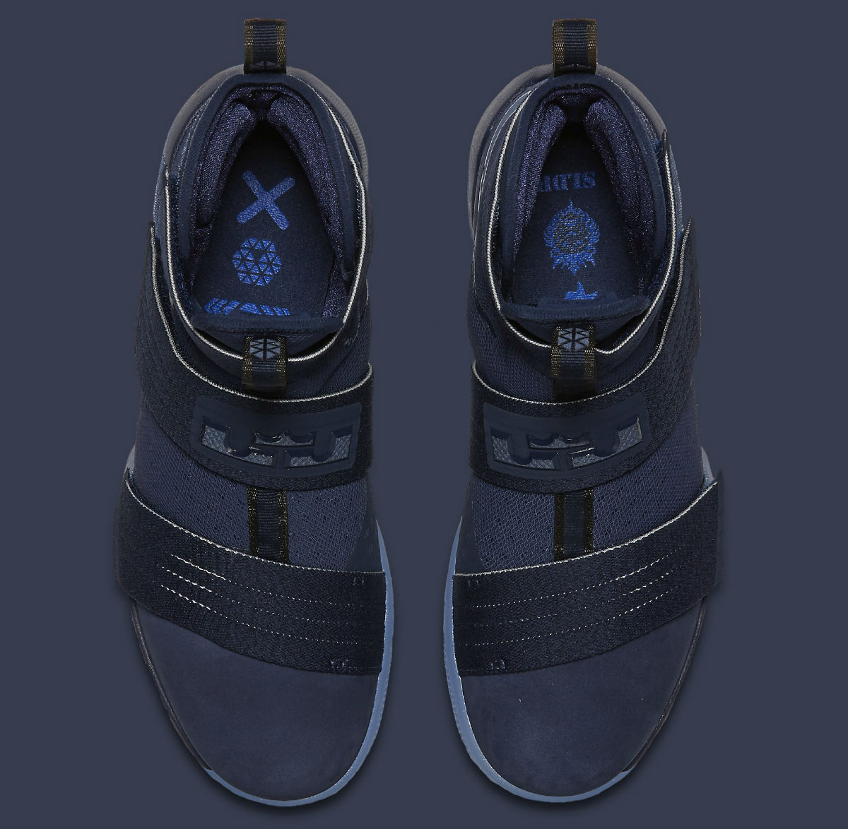 abc6f1f0767 Nike LeBron Soldier 10 Midnight Navy Release Date Top 844378-444