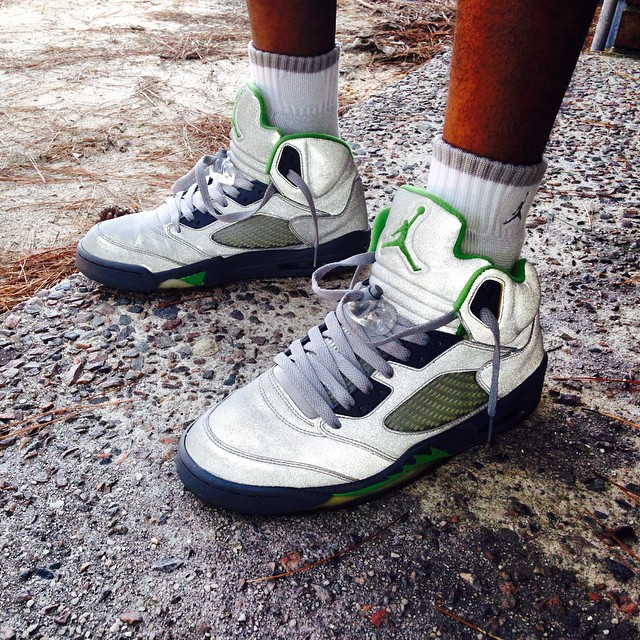 details for new appearance the cheapest Air Jordan Of The Week: Green Bean 5 | Sole Collector