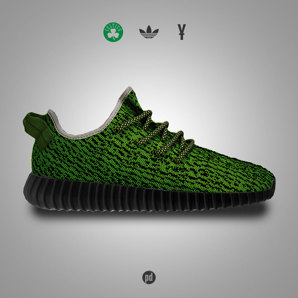 adidas Yeezy 350 Boost for the Boston Celtics