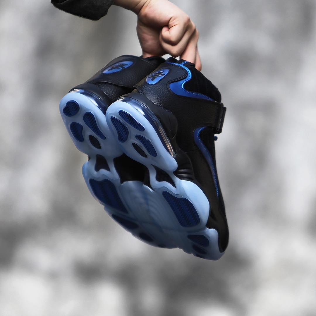 Nike Air Penny 4 Retro Black/Blue 2017 Release Date (7)