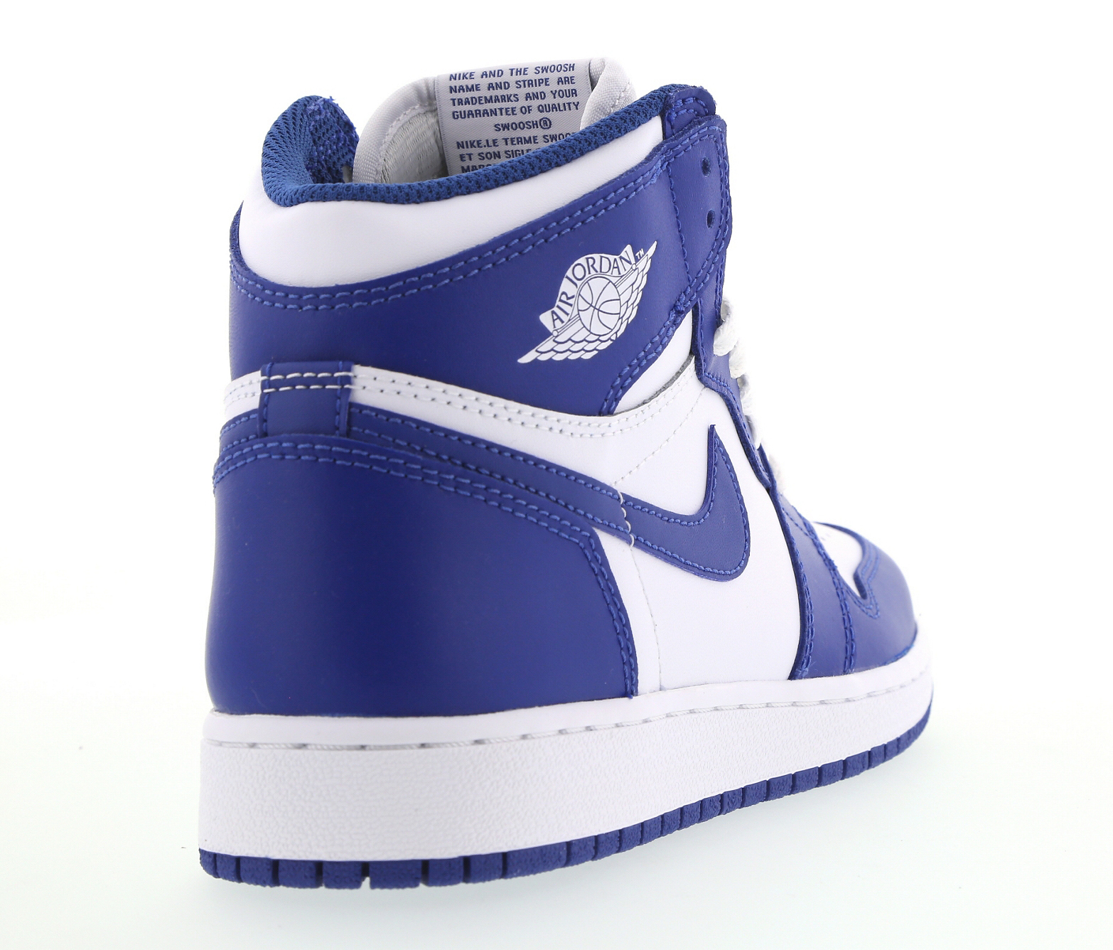 Air Jordan 1 Storm Blue GS Heel