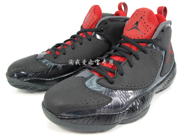 Air Jordan 2012 Black Red Grey 508318-010 (2)