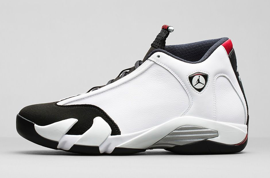 Air Jordan XIV 14 Retro Black Toe Official 487471-102 (2)