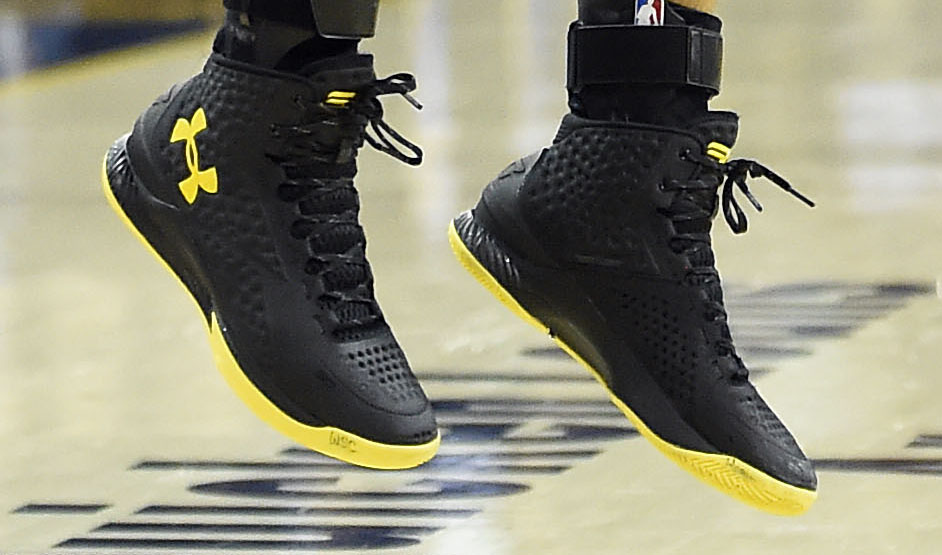 SoleWatch  Steph Curry Becomes an NBA Champion in Under Armour Curry ... 448d5fc46