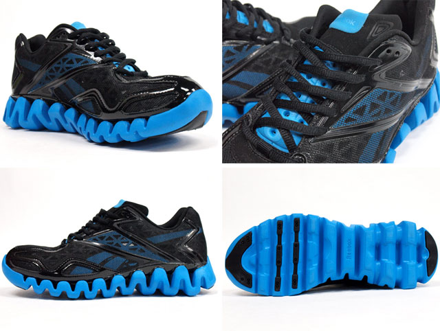 the best attitude 9f599 c7d50 ... uk reebok zig sonic black blue 6481c 4cec7