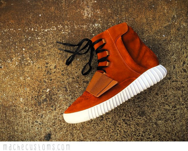 21b9821db152da adidas Yeezy 750 Boost Auburn by Mache Custom Kicks (1)
