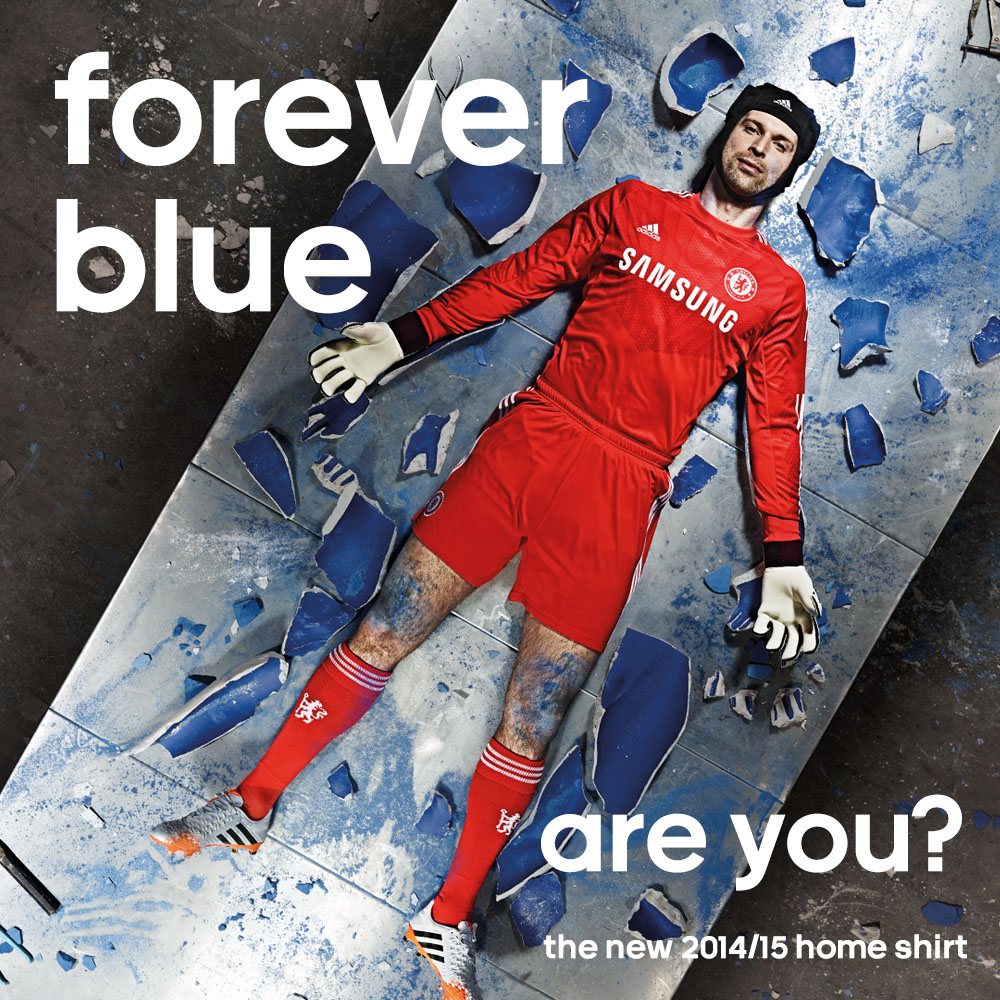 Forever Blue: Chelsea FC & adidas Unveil 2014-2015 Home Kit (2)