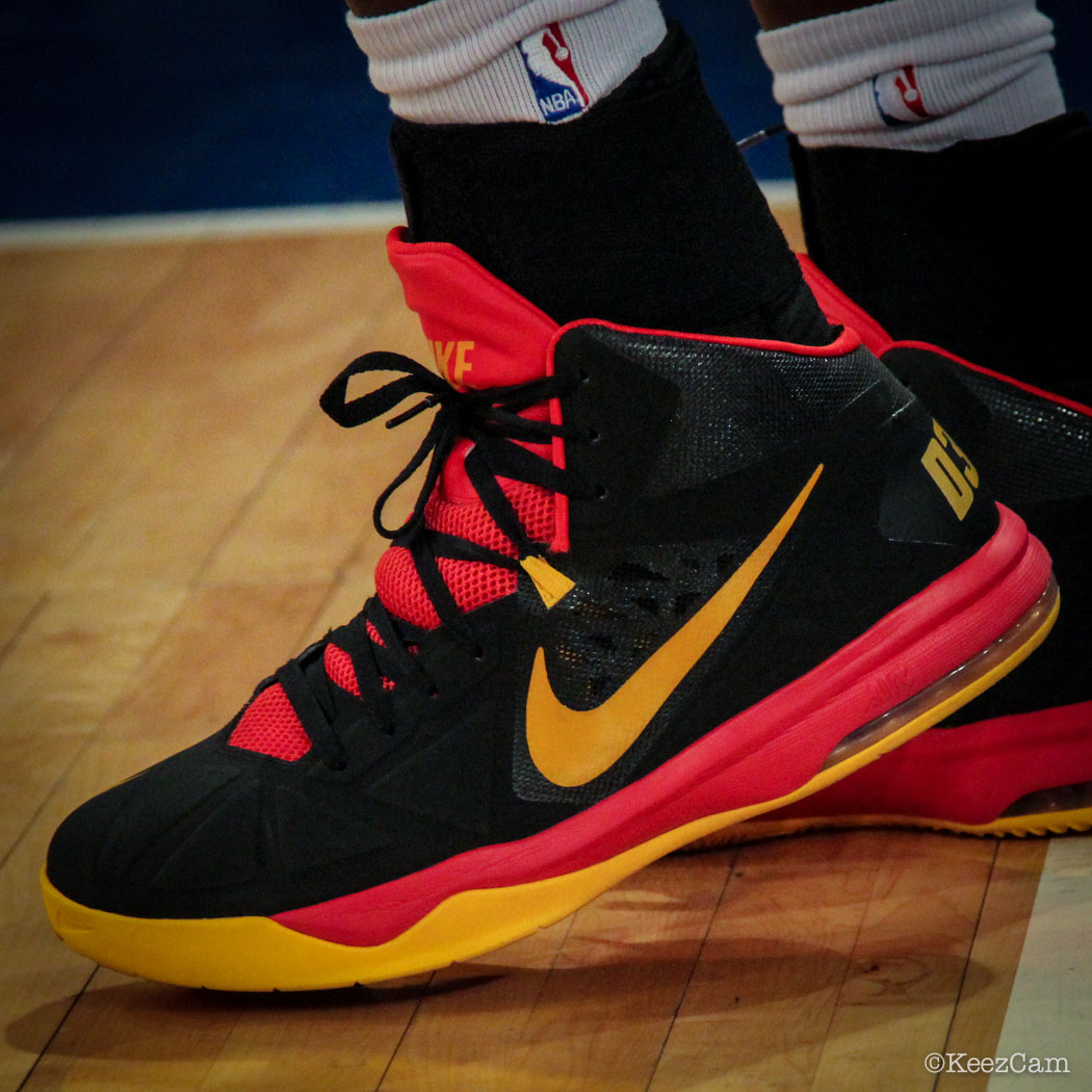 Luol Deng wearing Nike Air Max Body U PE (2)