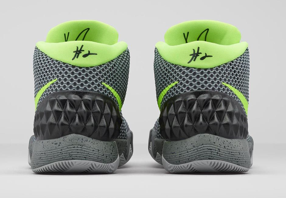 womens nike kyrie 1 grey green