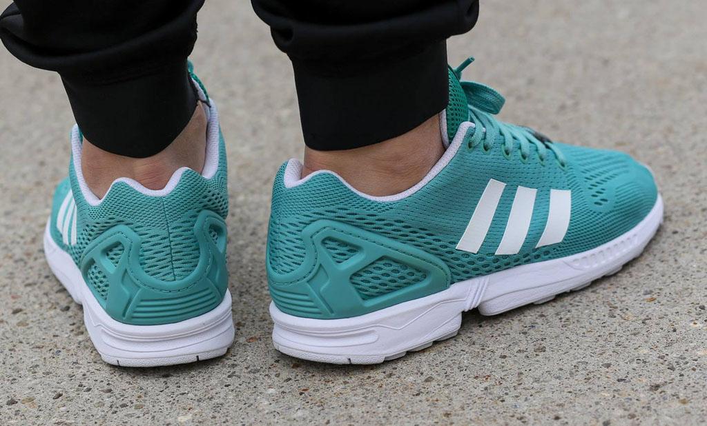 Adidas Zx Flux Ocean On Feet