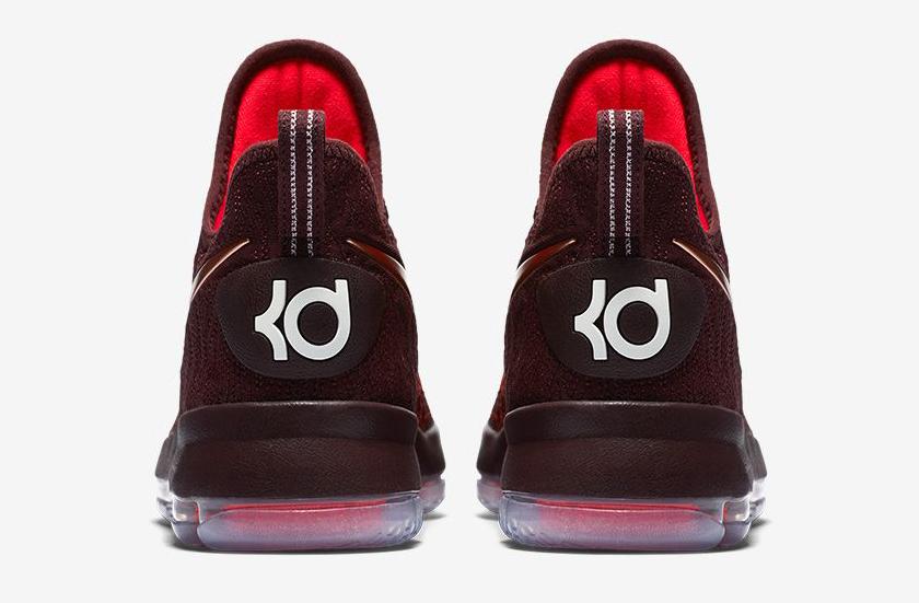 new product cb187 af604 2016 Nike KD 9 Christmas 852409-696 For Sale5 Image via Nike The Sauce KD 9  Heel ...