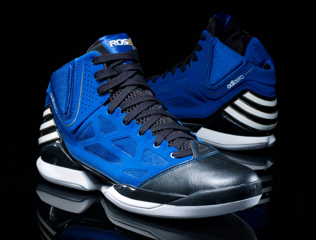 adidas adiZero Rose 2.5 School of Hard Knocks Black and Blue G49931 (1)