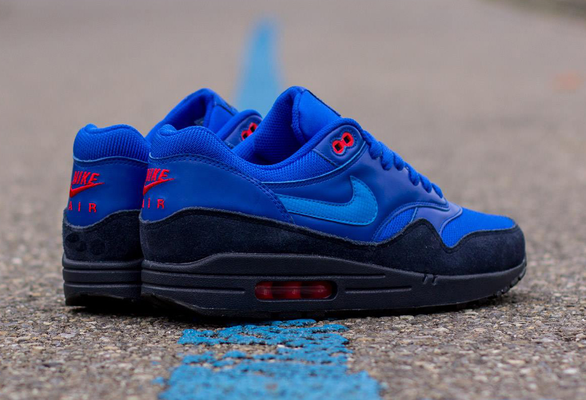 new arrival 2a565 e88da Nike Air Max 1 FB Obsidian Light Photo Blue-Light Bone 579920-400