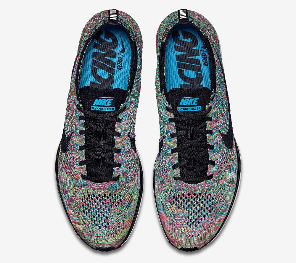 free shipping 92080 f3dd5  Rainbow  Nike Flyknit Racers Releasing Soon