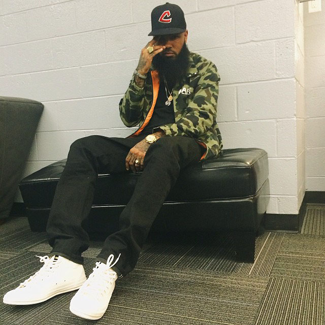 Stalley wearing Margiela x Converse Chuck Taylor All Star