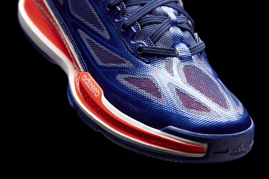 adidas adizero Crazy Light 3 - Bright Indigo/Infrared (3)