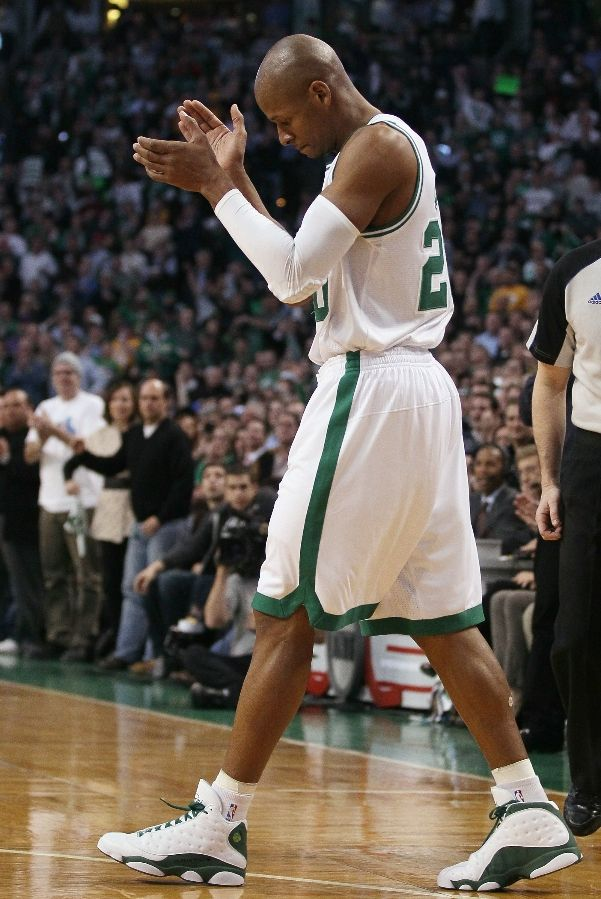 1299de56c5f58b Sneaker Watch  Ray Allen Shoots His Way Into The Hall of Fame