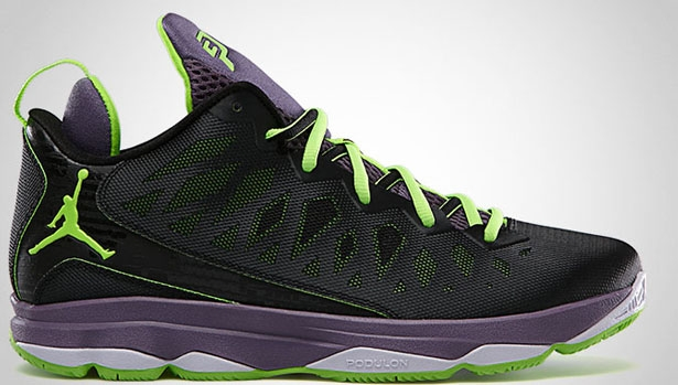 Jordan CP3.VI Black/Electric Green-Canyon Purple-Pure Violet