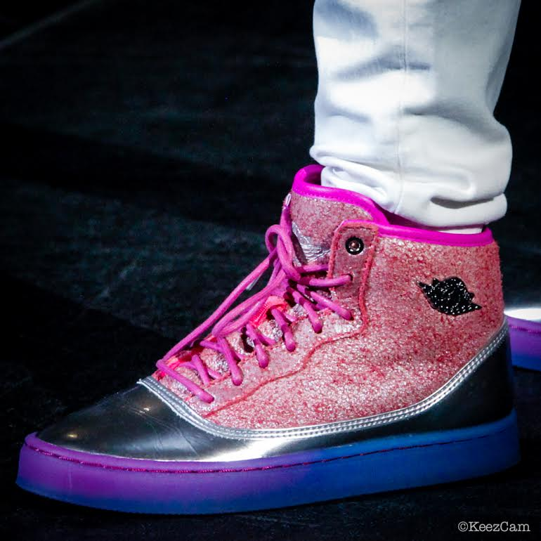 2f7ead5e7ef8 Your Best Look Yet at Nicki Minaj s Air Jordans