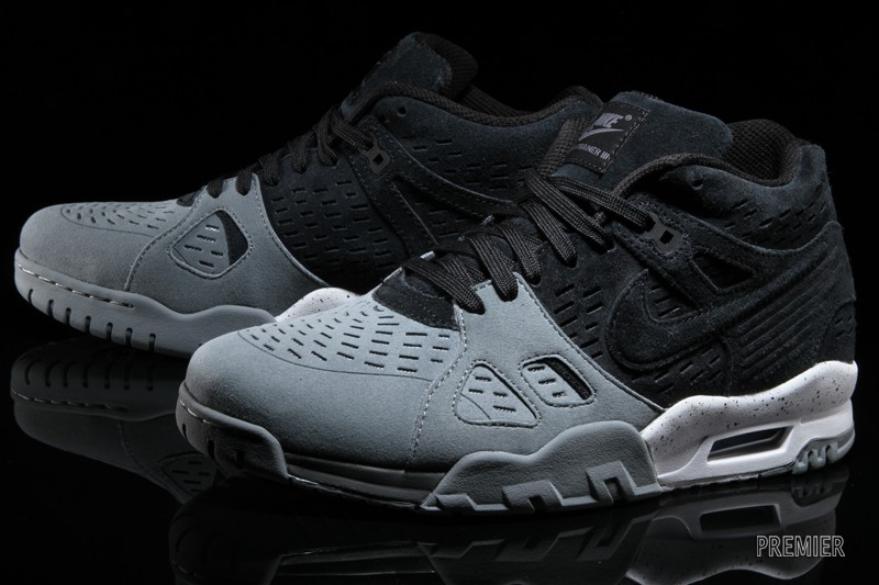 Grey White And Black Nike Air Trainers  80325b3f7f65