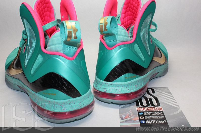 sports shoes c076a 50f65 Nike LeBron 9 PS Elite 'South Beach' MVP Sample | Sole Collector