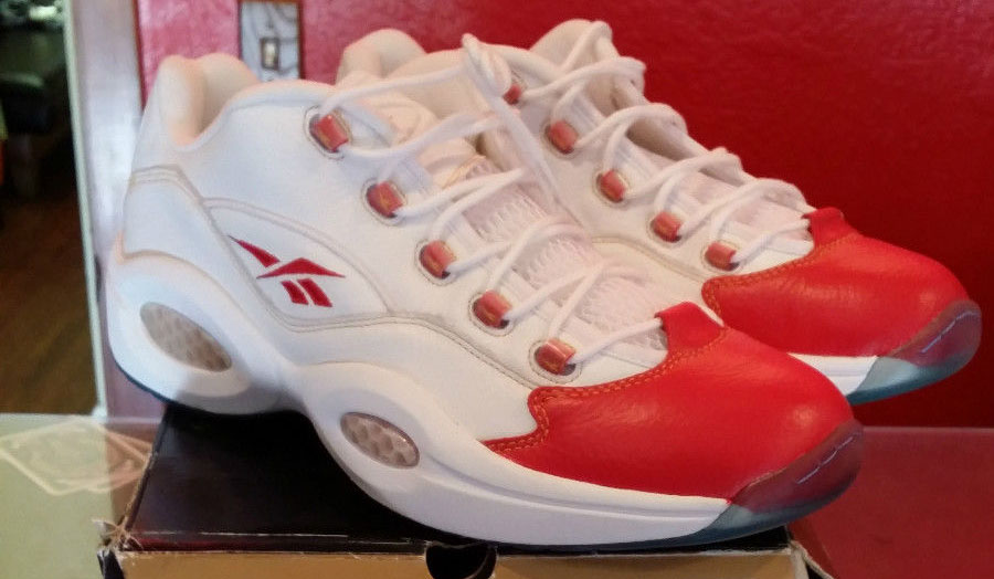 all red reebok questions